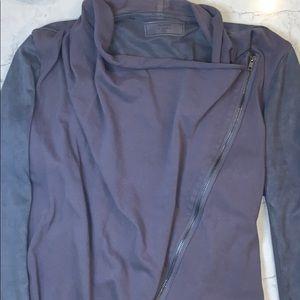 BlankNYC Suede Light Jacket